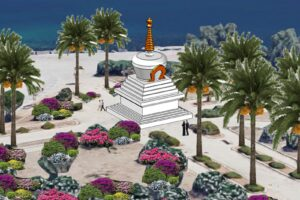 RENDERING UNO STUPA A PALERMO