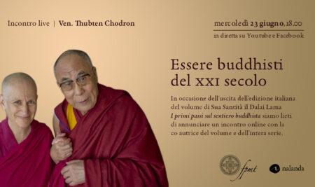 Essere buddhisti del XXI secolo – Evento online  mercoledì 23 giugno ore 18:00